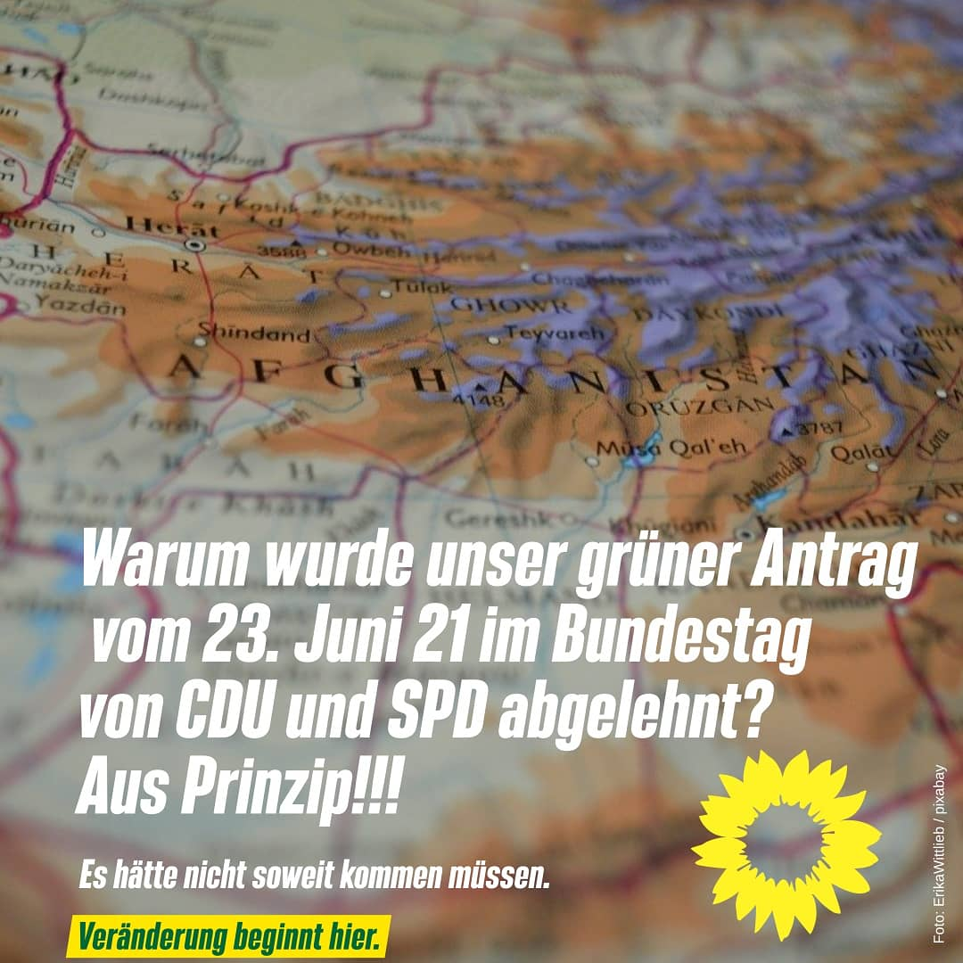 Antrag im Bundestag
