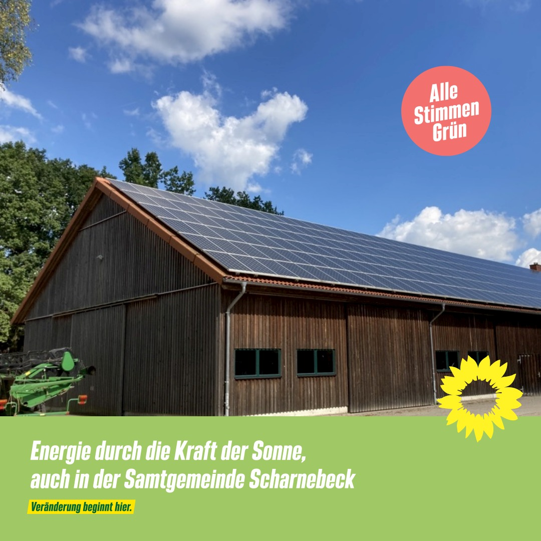 Solar auf die Dächer